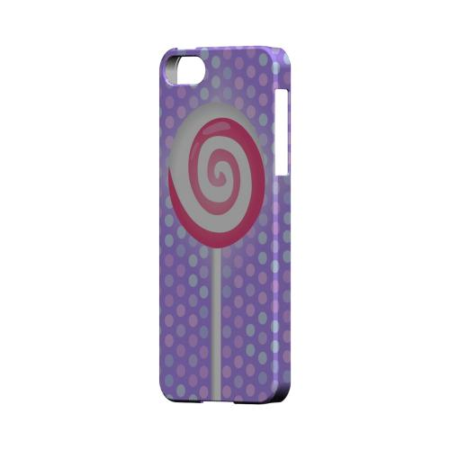 Pink Lollipop Geeks Designer Line Candy Series Slim Hard Back Cover for Apple iPhone 5/5S