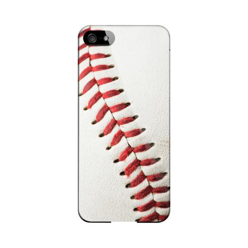 Baseball Geeks Designer Line Sports Series Matte Hard Case for Apple iPhone 5