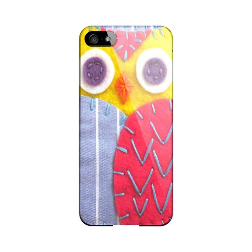 Yellow/ Pink Owl Geek Nation Program Exclusive Jodie Rackley Series Hard Case for Apple iPhone 5/5S