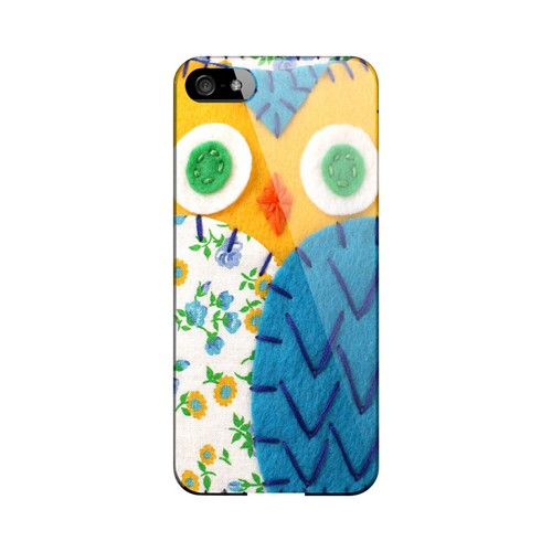 Gold/ Blue Owl Geek Nation Program Exclusive Jodie Rackley Series Hard Case for Apple iPhone 5/5S