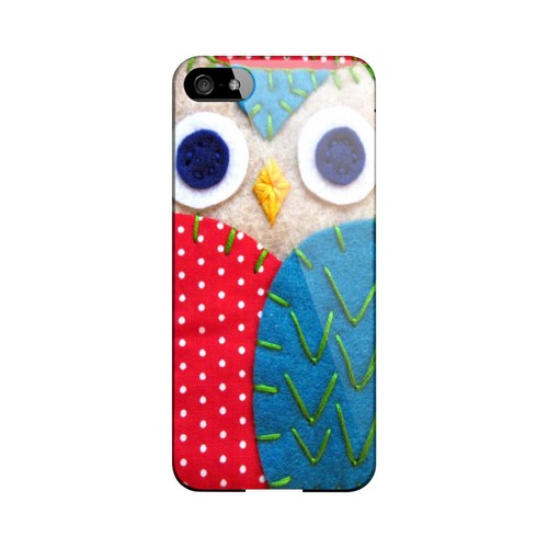 White/ Blue Owl Geek Nation Program Exclusive Jodie Rackley Series Hard Case for Apple iPhone 5/5S