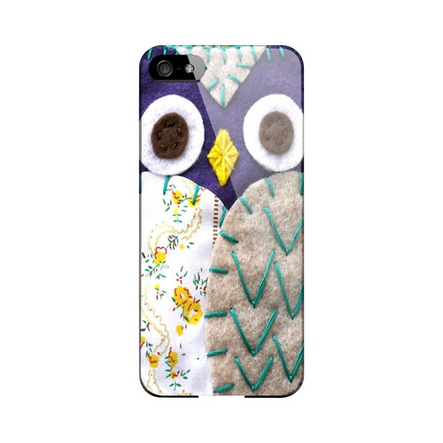 Blue/ Gray Owl Geek Nation Program Exclusive Jodie Rackley Series Hard Case for Apple iPhone 5/5S