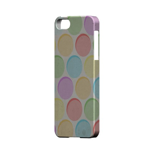 Grungy & Rainbow Geeks Designer Line Polka Dot Series Slim Hard Case for Apple iPhone 5/5S