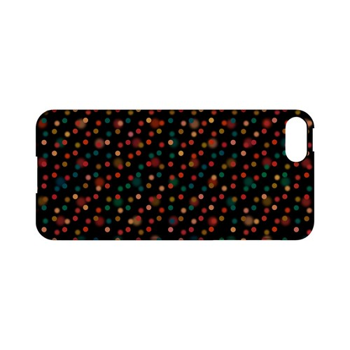 Faded Rainbow Dots on Black Geeks Designer Line Polka Dot Series Slim Hard Case for Apple iPhone 5/5S