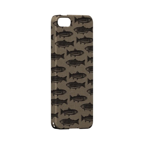 Vintage Salmon & Trout Print - Geeks Designer Line (GDL) Fish Series Hard Back Cover for Apple iPhone 5/5S