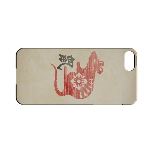 Grunge Rat Geeks Designer Line Chinese Horoscope Series Slim Hard Case for Apple iPhone 5/5S
