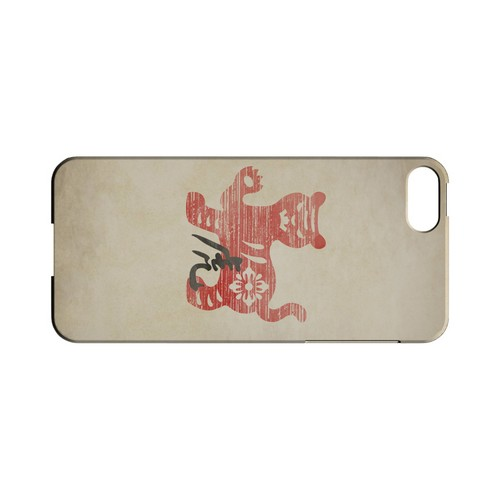 Grunge Tiger Geeks Designer Line Chinese Horoscope Series Slim Hard Case for Apple iPhone 5/5S