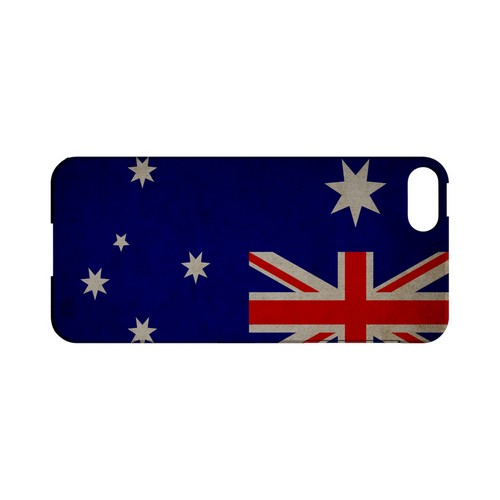 Grunge Australia Geeks Designer Line Flag Series Slim Hard Case for Apple iPhone 5/5S