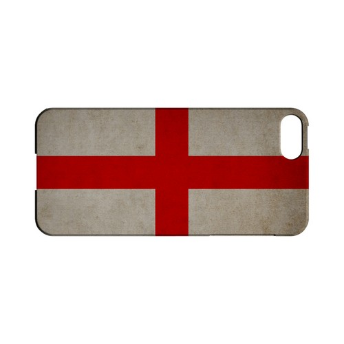 Grunge England Geeks Designer Line Flag Series Slim Hard Case for Apple iPhone 5/5S