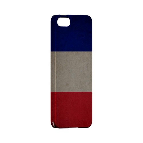 Grunge France Geeks Designer Line Flag Series Slim Hard Case for Apple iPhone 5/5S