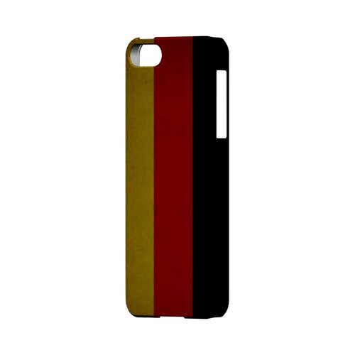 Grunge Germany Geeks Designer Line Flag Series Slim Hard Case for Apple iPhone 5/5S