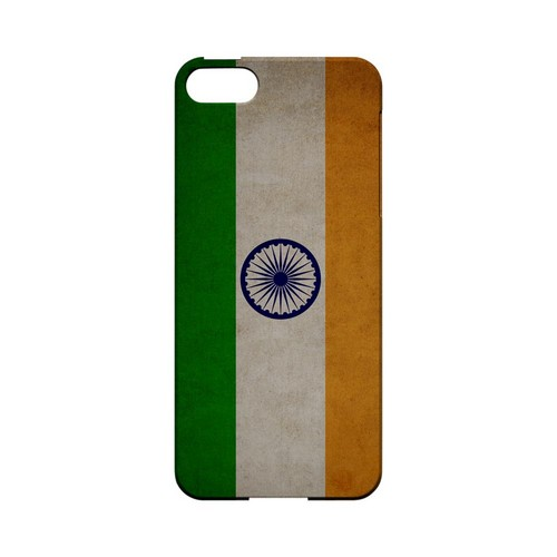Grunge India Geeks Designer Line Flag Series Slim Hard Case for Apple iPhone 5/5S