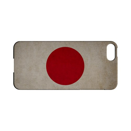 Grunge Japan Geeks Designer Line Flag Series Slim Hard Case for Apple iPhone 5/5S