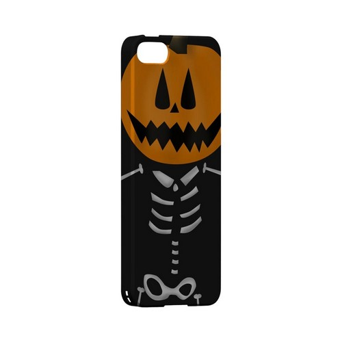 Skeleton w/Jack O' Lantern Head - Geeks Designer Line (GDL) Monster Mash Series Hard Back Cover for Apple iPhone 5/5S
