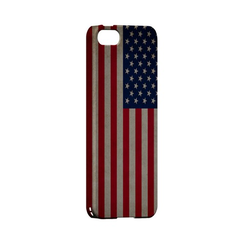 Grunge United States Geeks Designer Line Flag Series Slim Hard Case for Apple iPhone 5/5S