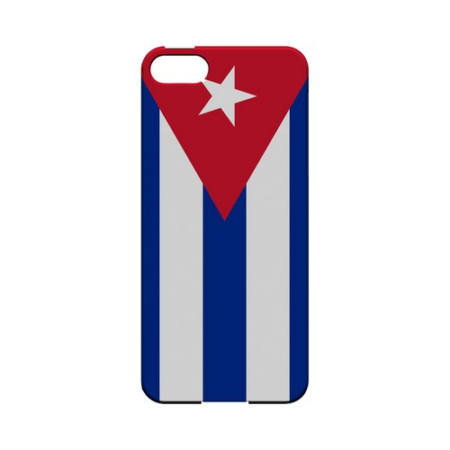 Cuba Geeks Designer Line Flag Series Slim Hard Case for Apple iPhone 5/5S