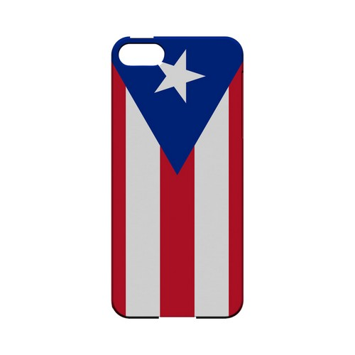 Puerto Rico Geeks Designer Line Flag Series Slim Hard Case for Apple iPhone 5/5S