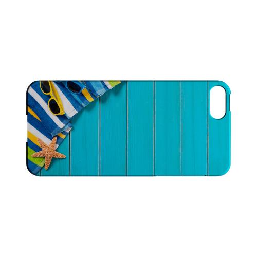 Decked Out Geeks Designer Line Beach Series Slim Hard Case for Apple iPhone 5/5S