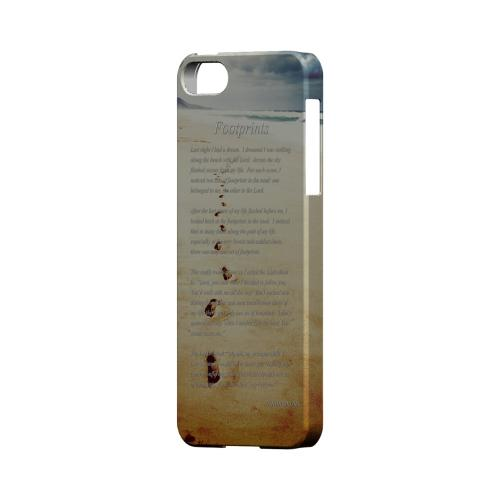 Footprints Geeks Designer Line Beach Series Slim Hard Case for Apple iPhone 5/5S