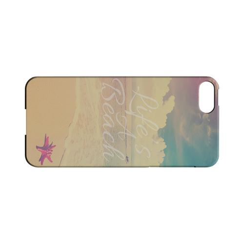 Life's A Beach Geeks Designer Line Beach Series Slim Hard Case for Apple iPhone 5/5S