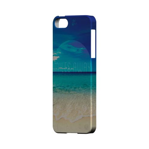 Miles Away Geeks Designer Line Beach Series Slim Hard Case for Apple iPhone 5/5S