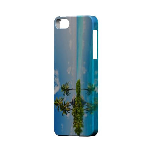 Tropical Paradise Geeks Designer Line Beach Series Slim Hard Case for Apple iPhone 5/5S