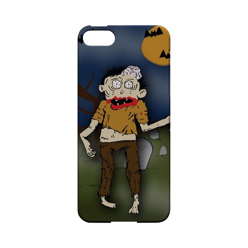 Zombie in Graveyard - Geeks Designer Line (GDL) Monster Mash Series Hard Back Cover for Apple iPhone 5/5S