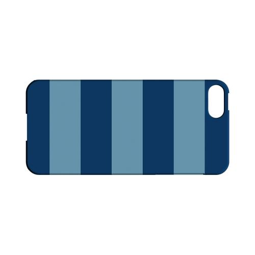 Monaco Blue/ Dusk Blue - Geeks Designer Line Stripe Series Hard Case for Apple iPhone 5/5S