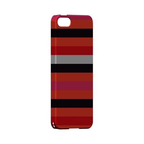 Muted Spade Stripes - Geeks Designer Line Stripe Series Hard Case for Apple iPhone 5/5S