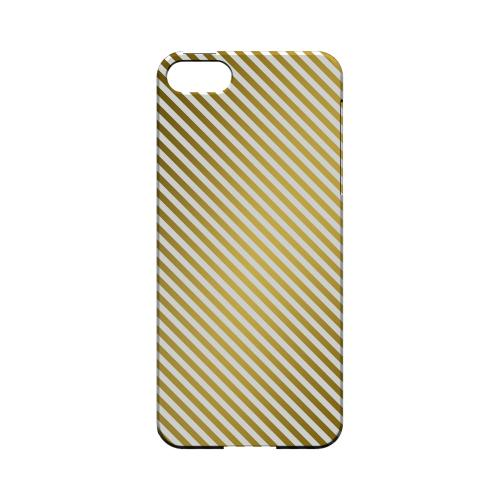 Thin Golden Diagonal - Geeks Designer Line Stripe Series Hard Case for Apple iPhone 5/5S