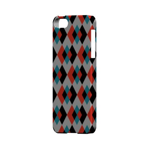 Double Diamond Vision - Geeks Designer Line Checker Series Hard Case for Apple iPhone 5/5S