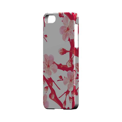 Hot Pink Cherry Blossom - Geeks Designer Line Floral Series Hard Case for Apple iPhone 5/5S