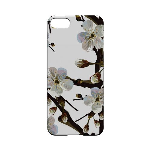 White Cherry Blossom - Geeks Designer Line Floral Series Hard Case for Apple iPhone 5/5S