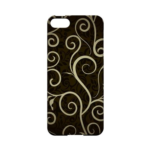 Elegant Dark Vines - Geeks Designer Line Floral Series Hard Case for Apple iPhone 5/5S