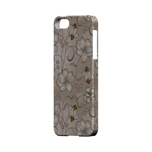 Floral Stripes Linen - Geeks Designer Line Floral Series Hard Case for Apple iPhone 5/5S