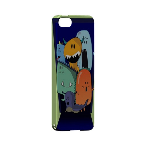 ZORGBLATS on Purple - Geeks Designer Line (GDL) Monster Mash Series Hard Back Cover for Apple iPhone 5/5S