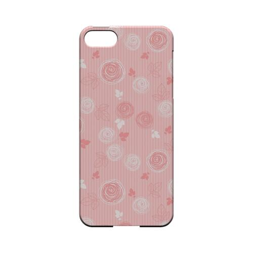 Leaves Scribble Pinkish - Geeks Designer Line Floral Series Hard Case for Apple iPhone 5/5S