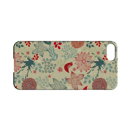 Lovebird Floral Splatter - Geeks Designer Line Floral Series Hard Case for Apple iPhone 5/5S