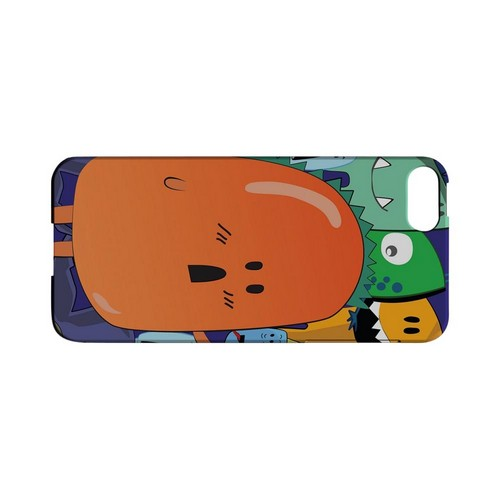 ZORGBLATS Orange Moob Close-Up - Geeks Designer Line (GDL) Monster Mash Series Hard Back Cover for Apple iPhone 5/5S