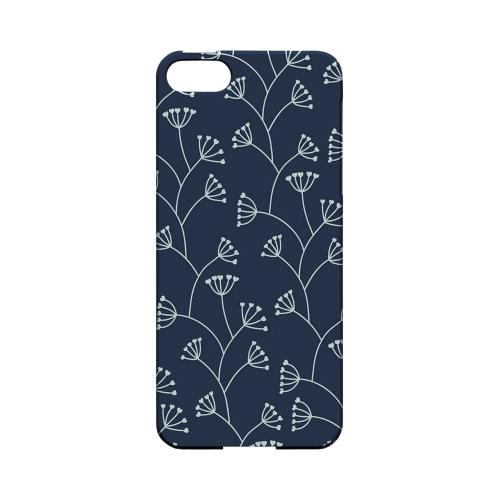 Simple Blue - Geeks Designer Line Floral Series Hard Case for Apple iPhone 5/5S
