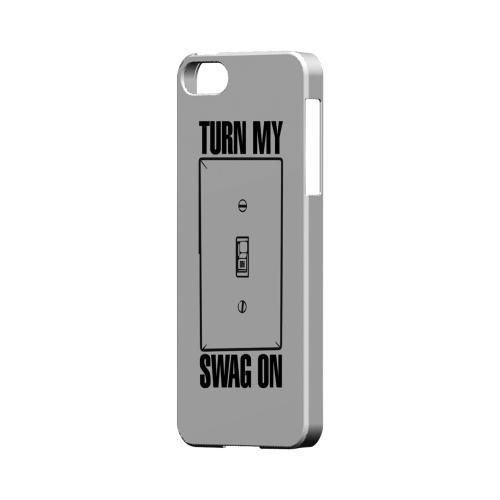 Light Switch - Geeks Designer Line Swag Series Hard Case for Apple iPhone 5/5S