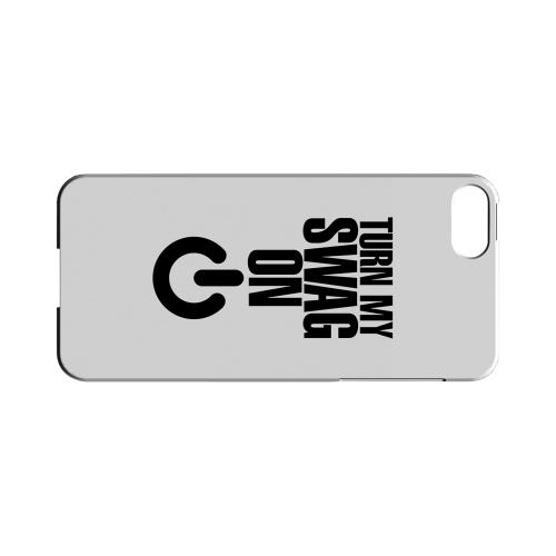 Power Button - Geeks Designer Line Swag Series Hard Case for Apple iPhone 5/5S