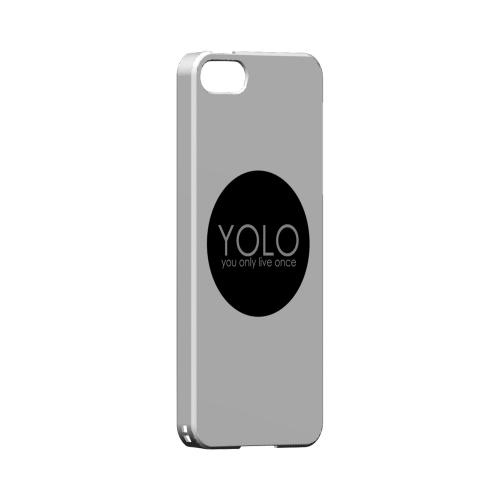 YOLO Circle - Geeks Designer Line YOLO Series Hard Case for Apple iPhone 5/5S