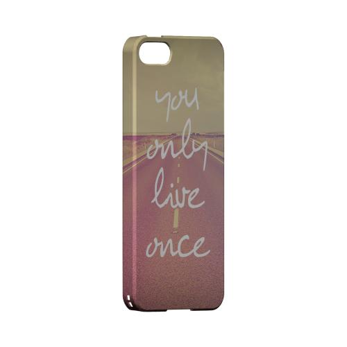 Open Road YOLO - Geeks Designer Line YOLO Series Hard Case for Apple iPhone 5/5S