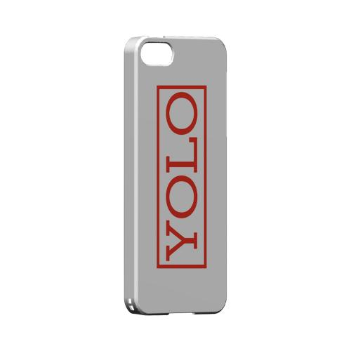 Red YOLO - Geeks Designer Line YOLO Series Hard Case for Apple iPhone 5/5S