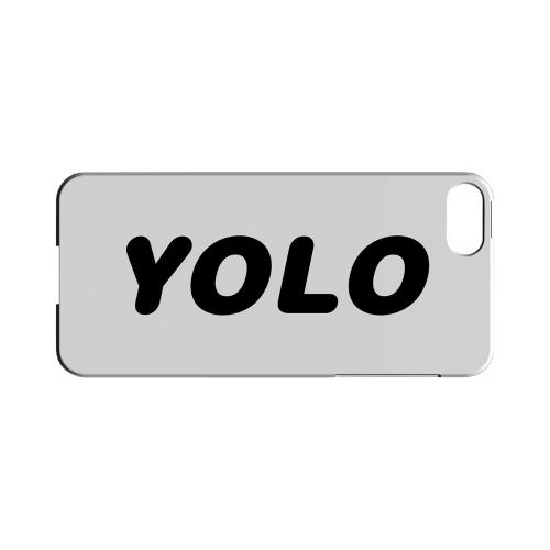 Rounded YOLO - Geeks Designer Line YOLO Series Hard Case for Apple iPhone 5/5S