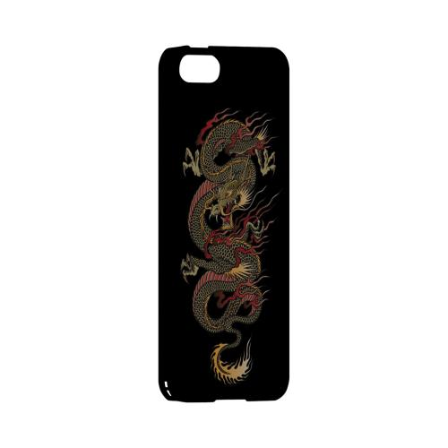 Dragon on Black - Geeks Designer Line Tattoo Series Hard Case for Apple iPhone 5/5S