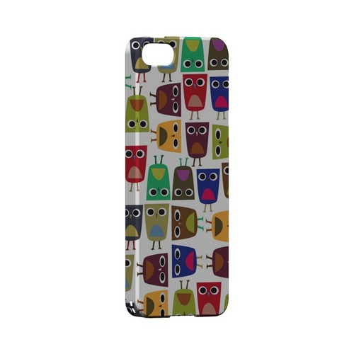 Quadrilateral Owl Configuration - Geeks Designer Line (GDL) Owl Series Hard Back Cover for Apple iPhone 5/5S