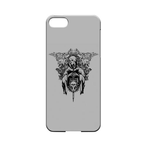 Inkfection on Gray - Geeks Designer Line Tattoo Series Hard Case for Apple iPhone 5/5S