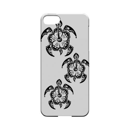 Island Turtle Trail - Geeks Designer Line Tattoo Series Hard Case for Apple iPhone 5/5S